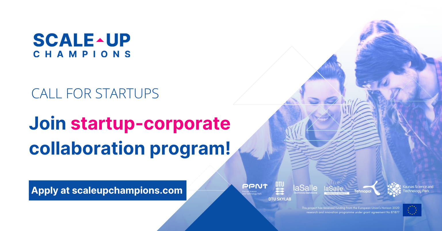 Open call for deep tech startups eager to collaborate with corporates